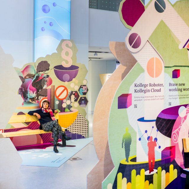 volkswagen sustainability exhibition shift at drive forum berlin