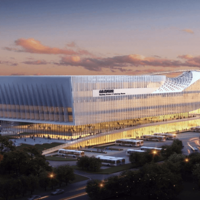 Shandong Science and Technology Museum (Rendering)